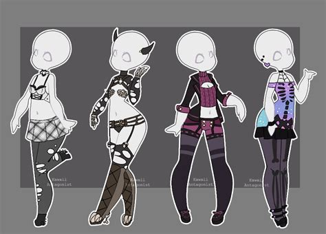 Gacha Outfits 11 By Kawaii-antagonist.deviantart.com On