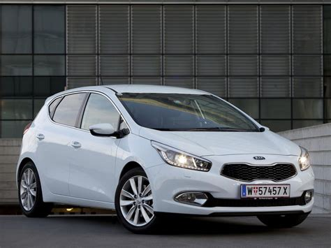 Kia Ceed 2013 by Kia Cee D Technical Specifications And Fuel Economy