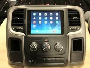 My 1st Ipad Mini Installation In A New Ram 1500 Pickup