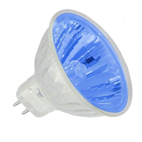 recessed lighting blue lens colored exn mr16 50 watt 12