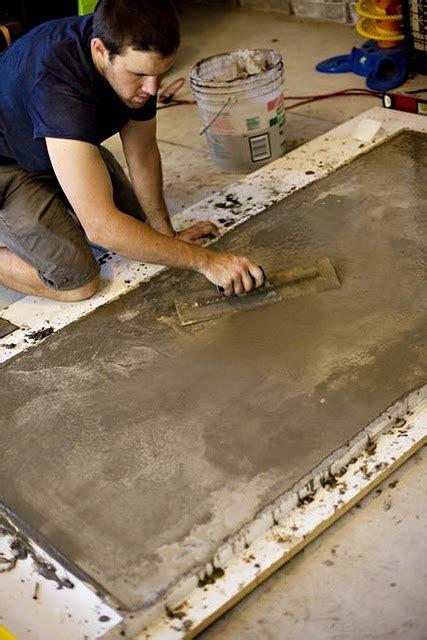 how to make a concrete table top build a concrete table top stone concrete pinterest