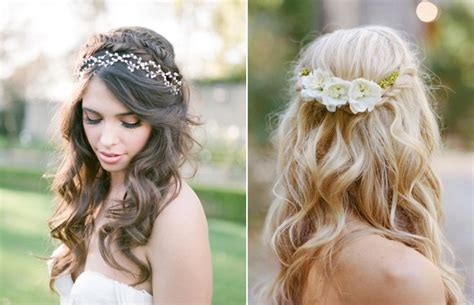 Wedding Hairstyles Half Up Half Down : 10 Of The Best Half Up Half Down Wedding Hairstyles With
