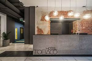 Modern Hotel With Industrial Background | Hotel Lobbies ...