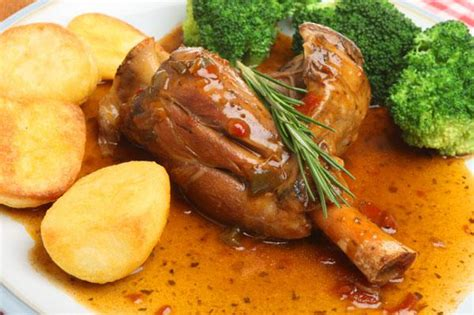 slow cooked lamb shanks sheknows