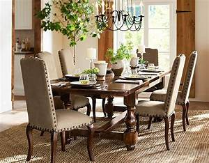78 images about pottery barn dining room on pinterest With barn board dining room tables