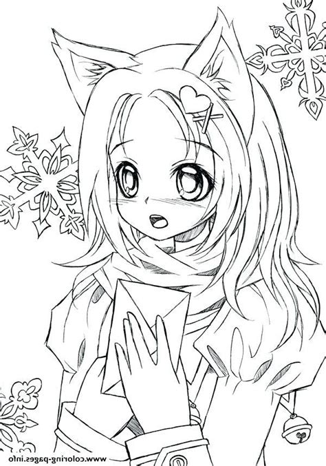 Elegant Anime Coloring Pages for Adults Mermaid coloring