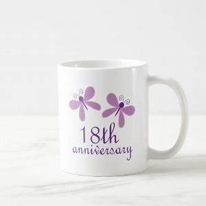 18th anniversary gifts t shirts art posters other With 18th wedding anniversary gift ideas
