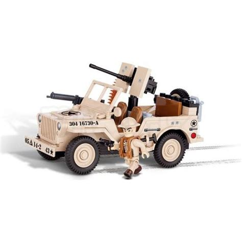Cobi Mal Armda 24093 Jeep Willys Mb North Africa 1943