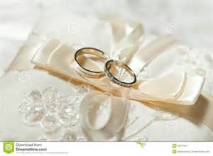 ring pillow wedding beautiful wedding rings stock image image 23137971