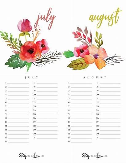 Calendar Printable Calendars Flower Planner Printables Pretty