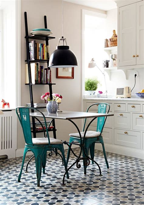 table cuisine retro a charming bistro style kitchen vintage kitchen