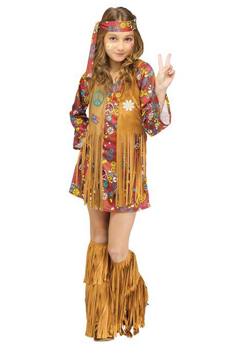 Child Peace u0026 Love Hippie Costume