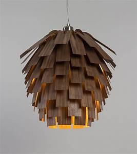 Hängeleuchte Holz Design : designer h ngeleuchte scots light von tom raffield ~ Markanthonyermac.com Haus und Dekorationen