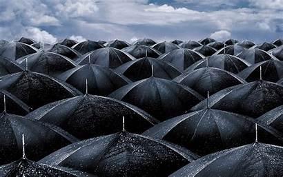 Rain Desktop Spring Rainy Raining Wallpapers Pc