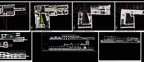 etnographic museum  dwg design section  autocad
