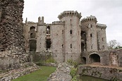 Raglan Castle, Monmouthshire, Wales | Visions Of The Past