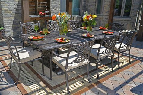 cast aluminum patio furniture cast aluminum