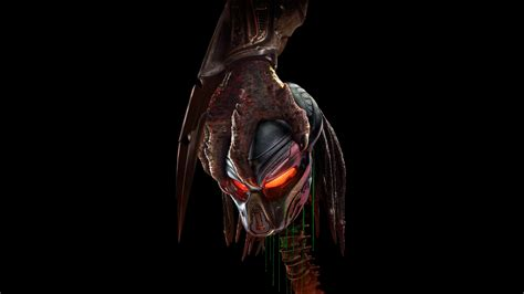 Predator Background The Predator 2018 Spine Grab Black Background Wallpaper