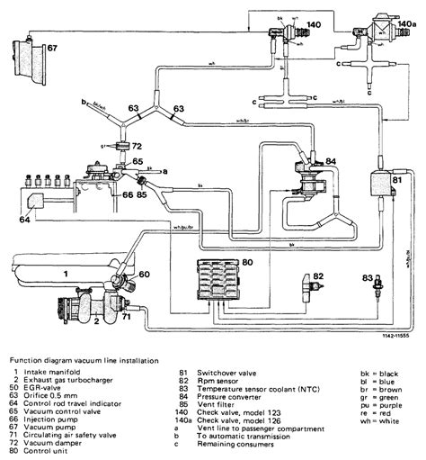 1985 Mercede Fuel System Diagram by I Replaced The Vacuum Unit On My 1985 300d