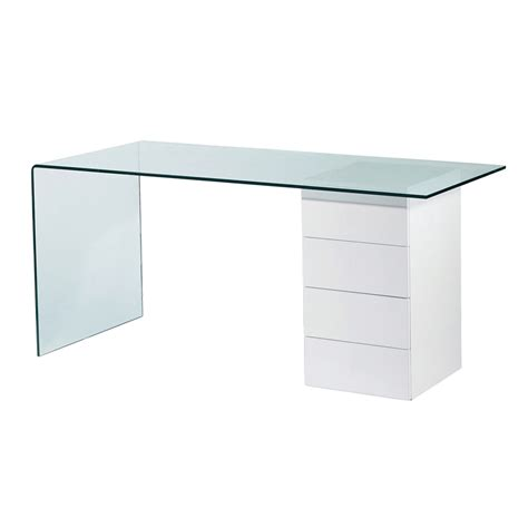 bathroom linen refract glass desk with drawers dwell