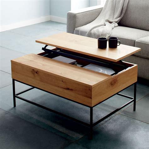 coffee tables designed  storage core