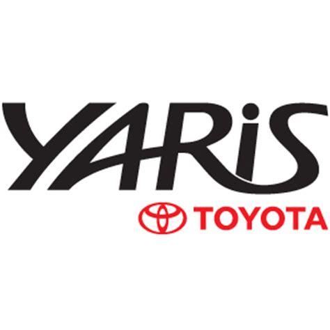 logo de toyota toyota yaris logo vector logo toyota yaris in eps crd