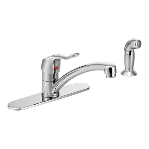 industrial faucets kitchen moen m dura commercial single handle standard kitchen
