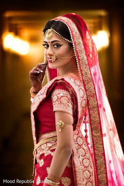 dreamy bengali bride  indian wedding  atsunjayjk