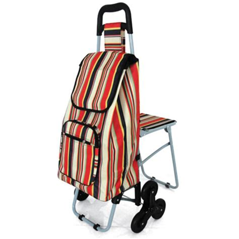 siege de course shopping trolley with stair climber shopping trolleys