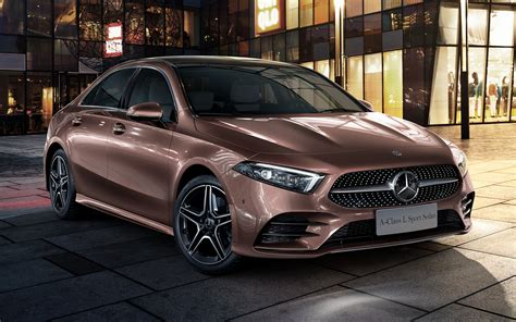 Mercedes A Class Wallpapers by 2019 Mercedes A Class Sedan Amg Styling Cn