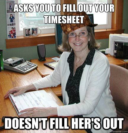Office Manager Meme - asks to copy your homework funny meme picture