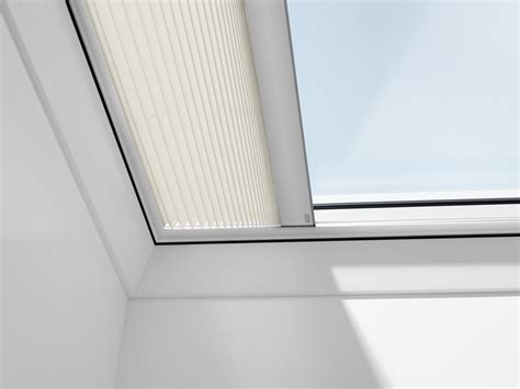 velux pleated blinds  flat roof windows