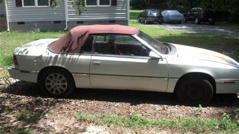 Find Used 1995 Chrysler Le Baron Lx Convertable In