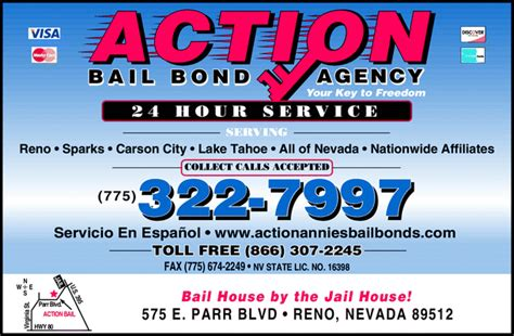 bail bureau bail bond agency reno nv 89512 yellowbook