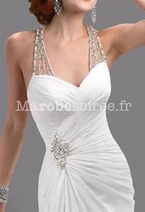 eblouissante robe de mariee glamour bretelles strass forme With robe pour mariage cette combinaison collier homme acier