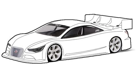 Blank Race Car Templates Nascar 24 Paper Template Circuit Diagram Maker