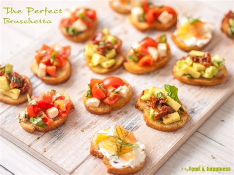 cheap canapes recipes how to the bruschetta topping ideas my