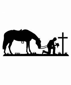 Praying Cowboy Wall Decal | Juan's room | Pinterest | Wall ...