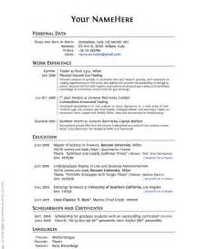 What Should Be Included In A Resume For Graduate School by Business Jeromy S Knowledge Base