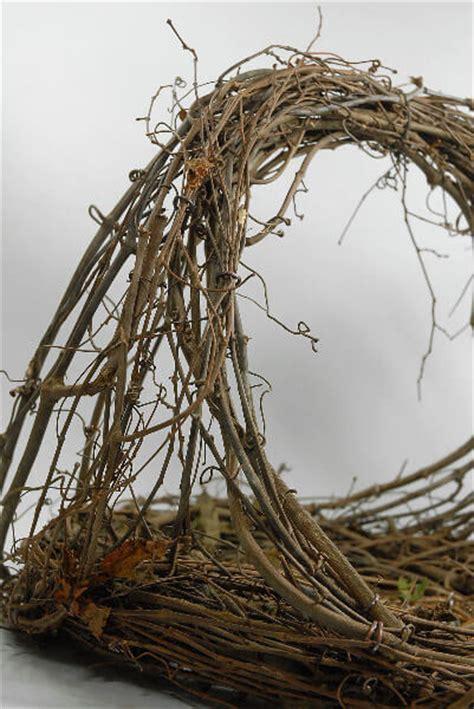 large handmade grapevine basket