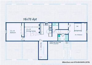 apartment floor plan for monitor style horse barn barn With 6 stall horse barn plans