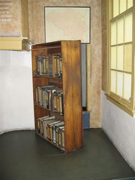 Frank Bookcase Door by Frank House Amsterdam A Bookcase Hid The Entrance