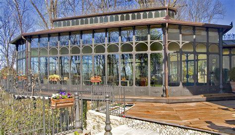verande in ferro battuto veranda in ferro battuto e vetro con realizzazione