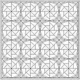 Quilt Coloring Block Pattern Patterns Pages Wheel Fortune Pinwheel Blocks Quilts Colouring Month Printable Quilting Blank Crazy Fish Template Templates sketch template