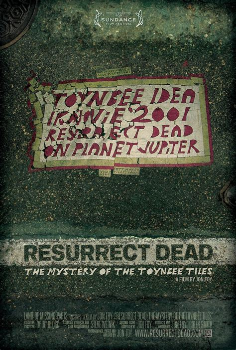 resurrect dead the mystery of the toynbee tiles 1 of 2