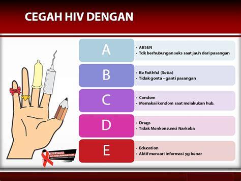 Cara Agar Tidak Bisa Hamil Pencegahan Hiv Aids Dengan Abcde
