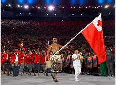 Tongan flag bearer Pita Nikolas Taufatofua was the star of