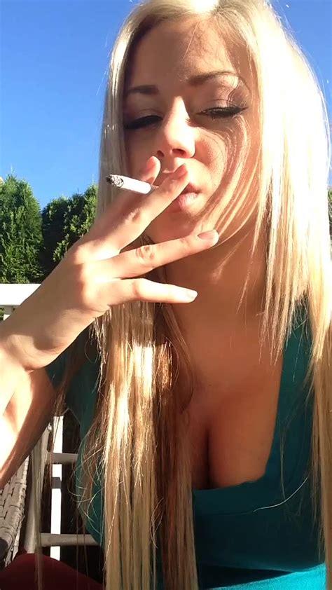 Smoking Fetish Selfie Vid On Phone Mfc Share 🌴