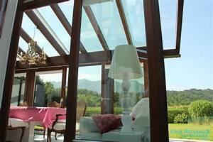 Dach Für Wintergarten : holz wintergarten esszimmer eingerichtet in pink und ~ Michelbontemps.com Haus und Dekorationen