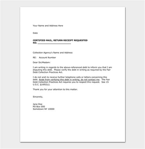 collection letter to client collection letter template 10 samples amp examples 20887 | Collection Letter Template for Agency